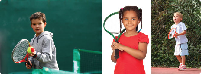 how to teach a child to play tennis